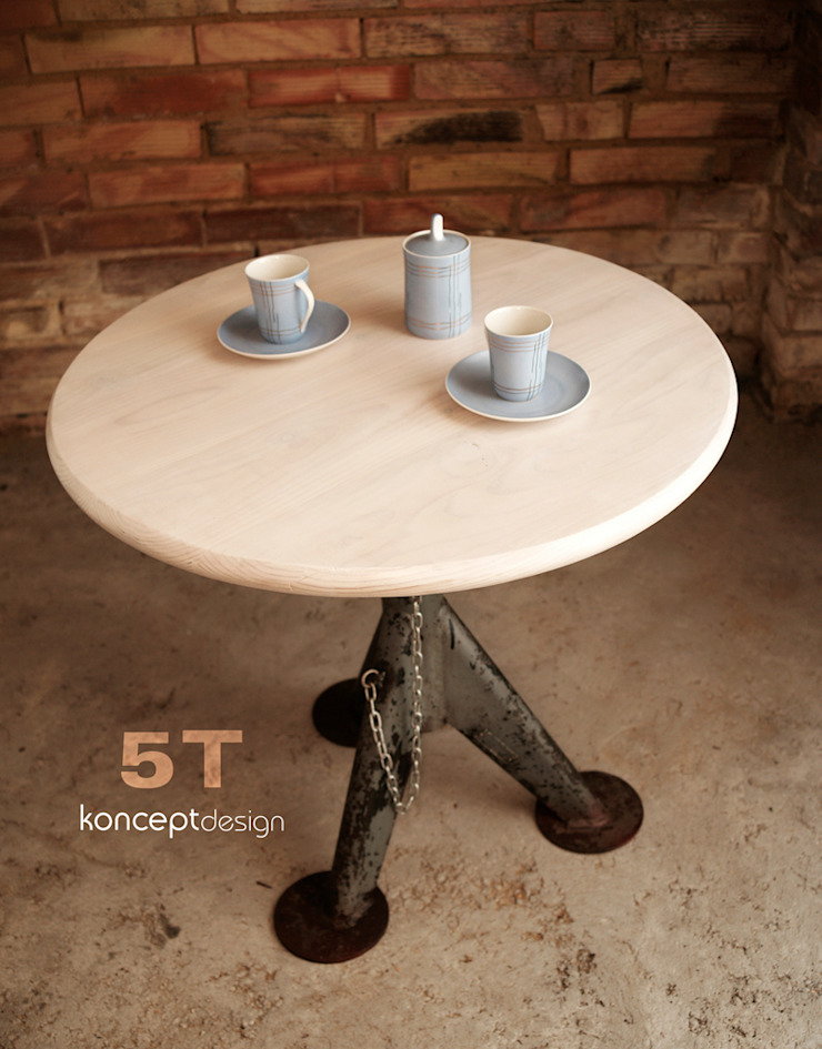 Stół 5T od Konceptdesign Industrialny
