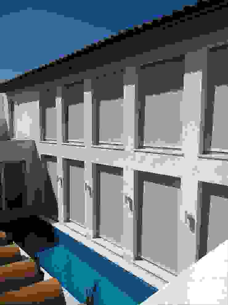 Piscina Aroma Italiano Eco Design Casa unifamiliare Bianco
