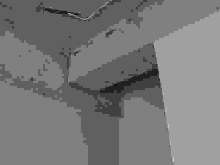 駒場・ROOM・S(KOMABA・ROOM・S) ミニマルスタイルの 玄関&廊下&階段 の 吉田裕一建築設計事務所 ミニマル コンクリート