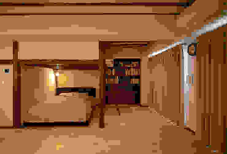 御嶽山・ROOM・T(ONTAKESAN・ROOM・T) 和風の 寝室 の 吉田裕一建築設計事務所 和風
