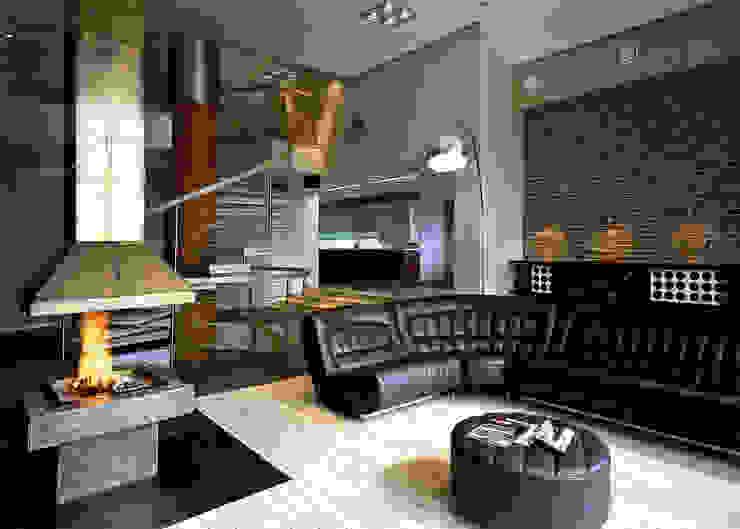 Гостиная (DZ)M Интеллектуальный Дизайн Гостиная в стиле лофт