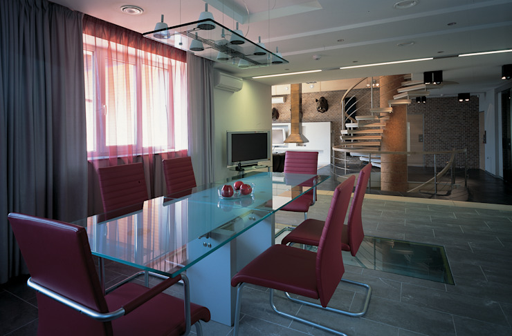 Столовая комната (DZ)M Интеллектуальный Дизайн Столовая комната в стиле минимализм