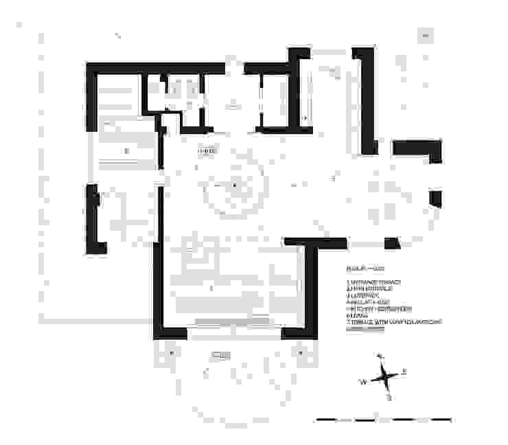 план третьего этажа загородного дома (DZ)M Интеллектуальный Дизайн