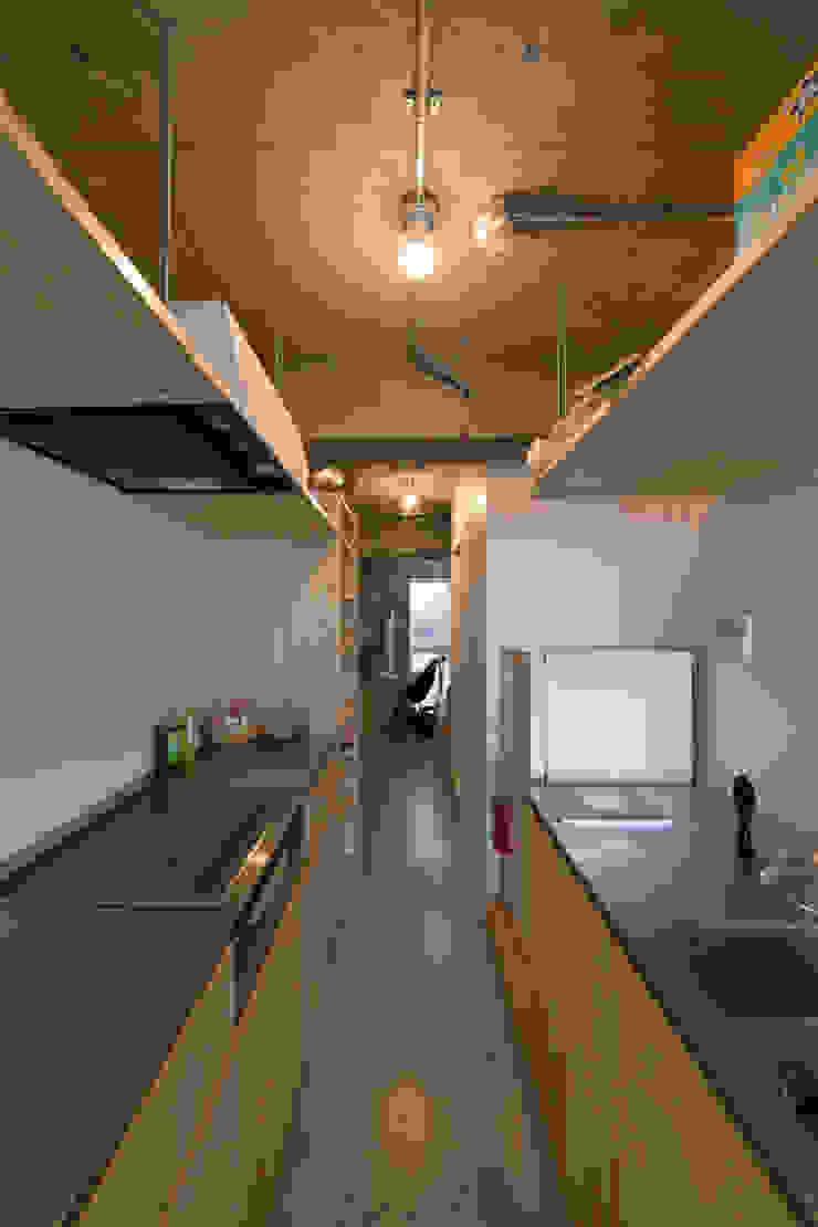 Modern Kitchen by 吉田裕一建築設計事務所 Modern