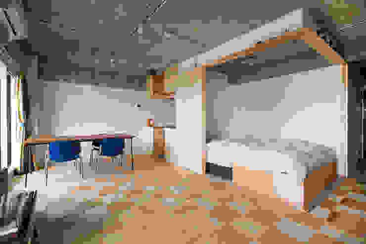 Modern Bedroom by 吉田裕一建築設計事務所 Modern