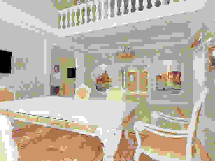 Особняк город Тобольск. Tutto design Столовая комната в классическом стиле