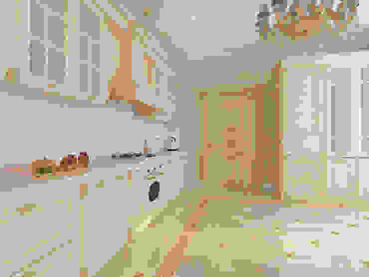 Особняк город Тобольск. Tutto design Кухня в классическом стиле