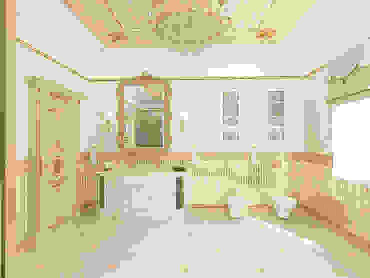 Особняк город Тобольск. Tutto design Ванная в классическом стиле