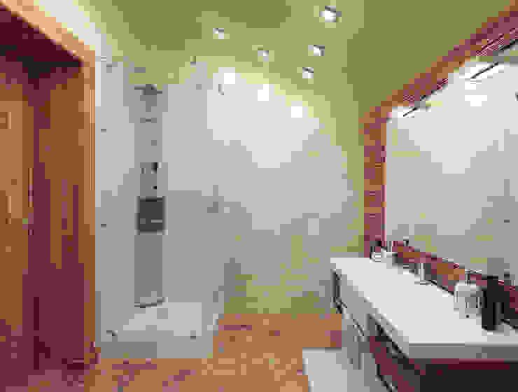 Особняк город Тобольск. Tutto design Ванная комната в стиле минимализм