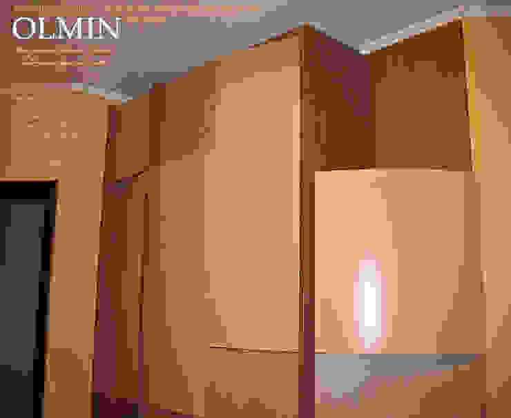 Дизайн - шкафы, тумбочки и пр. ИП OLMIN - Архитектурная студия Олега Минакова Спальная комната Шкафы для одежды и комоды МДФ Многоцветный