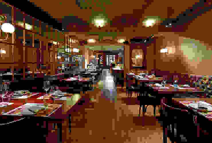 Sala 2 Gastronomía de estilo clásico de Carlos Martinez Interiors Clásico