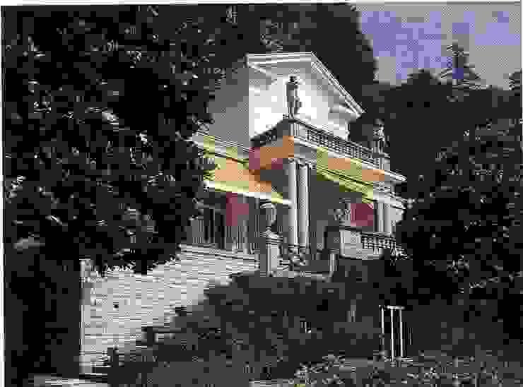 Villa Socotina - Como Lake Classic style houses by Archiluc's - Studio di Architettura Stefano Lucini Architetto Classic