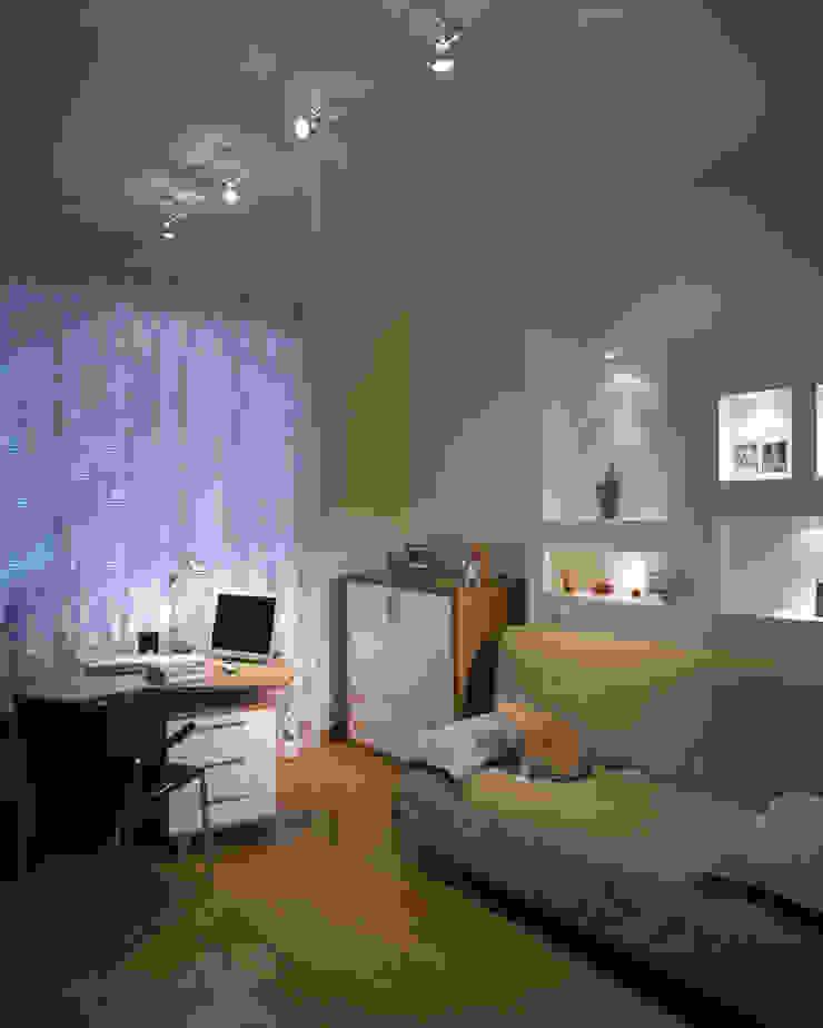 Детская. Детская комнатa в стиле минимализм от KRAUKLIT VALERII Минимализм