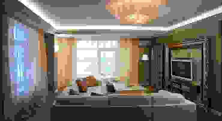 Гостиная Гостиные в эклектичном стиле от KRAUKLIT VALERII Эклектичный