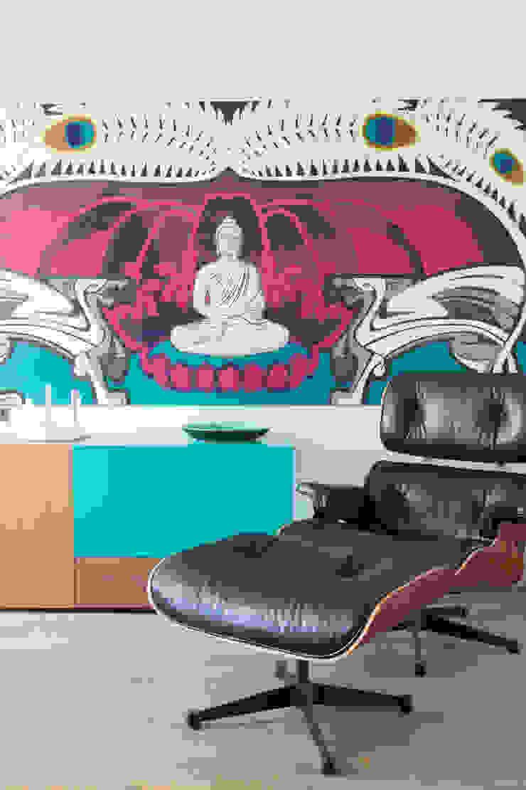 huiskamer Moderne woonkamers van IJzersterk interieurontwerp Modern