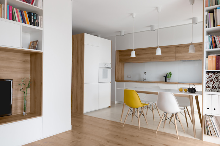 Minimalist kitchen by 081 architekci Minimalist