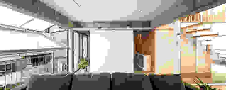 Casa Migdia Salones de estilo moderno de Sau Taller d'Arquitectura Moderno