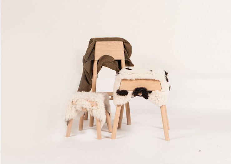 Livestock stools set van Product Design - Tijn van Orsouw Rustiek & Brocante