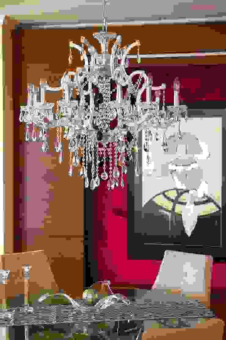 Lámparas de cristal para comedores, tanto ambientes clásico y modernos de Bimaxlight Moderno