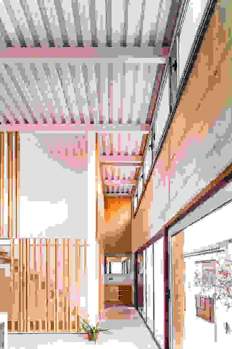 Casa Migdia Comedores de estilo minimalista de Sau Taller d'Arquitectura Minimalista