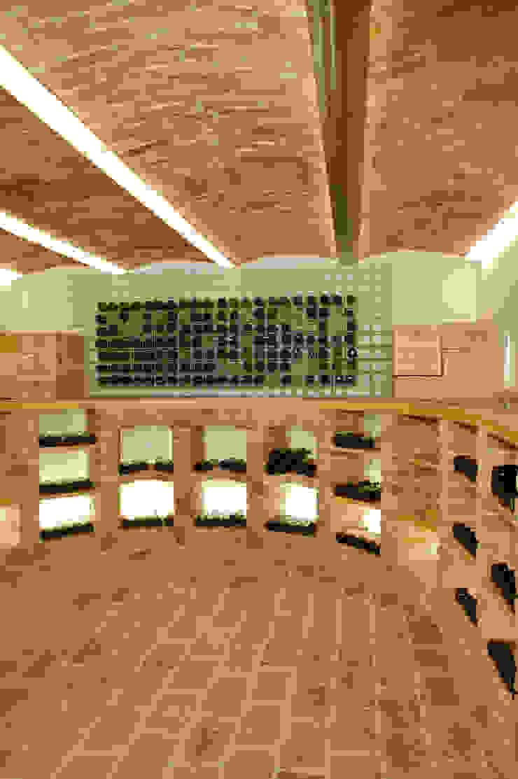 Gewolbekeller Mit Integriertem Weinregal Aus Ziegeln Moderne Weinkeller Von Jahn Gewolbebau Gmbh Modern Homify