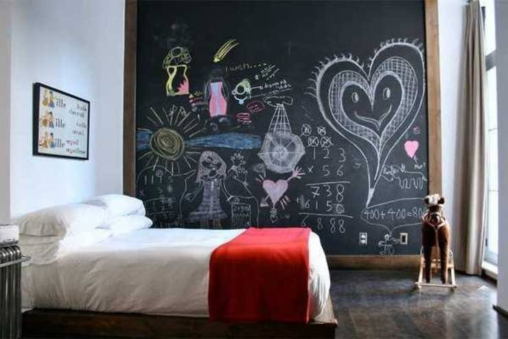غرفة نوم تنفيذ Federica Rossi Interior Designer,