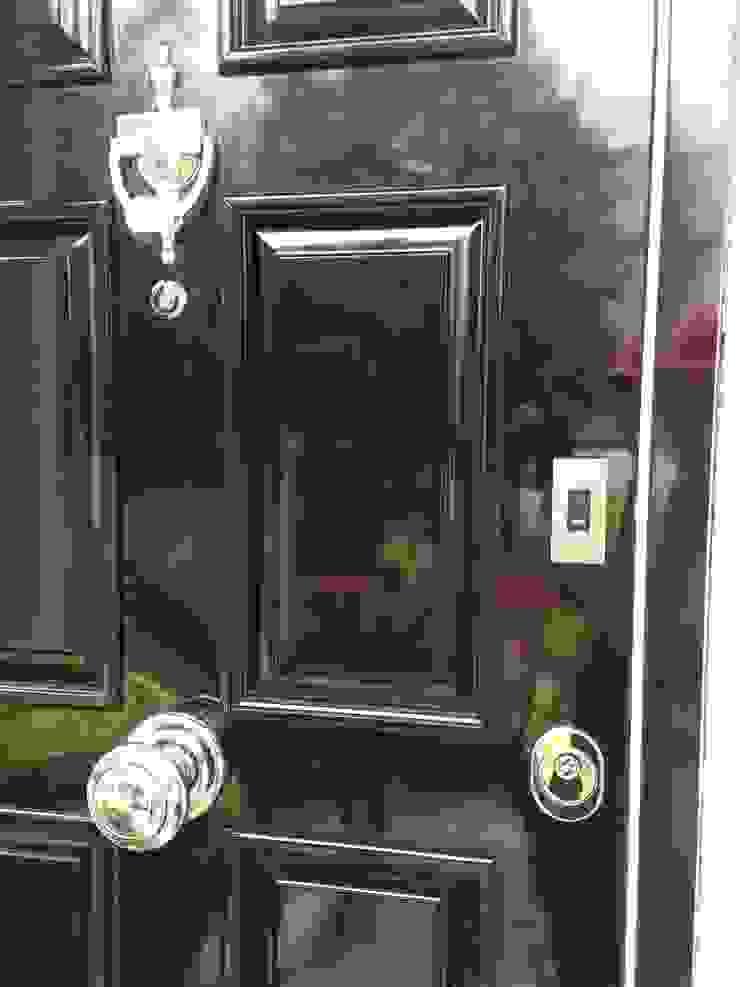 Crest Nicolson Modern windows & doors by Stronghold Security Doors Modern