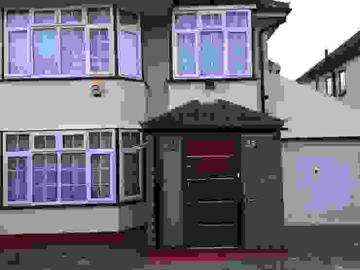 Sudbury hill Modern windows & doors by Stronghold Security Doors Modern