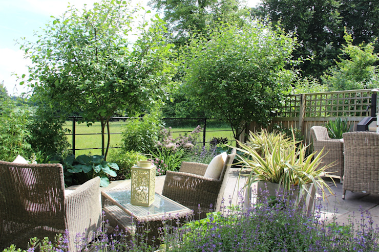 A year after planting by Dawn Garden Design