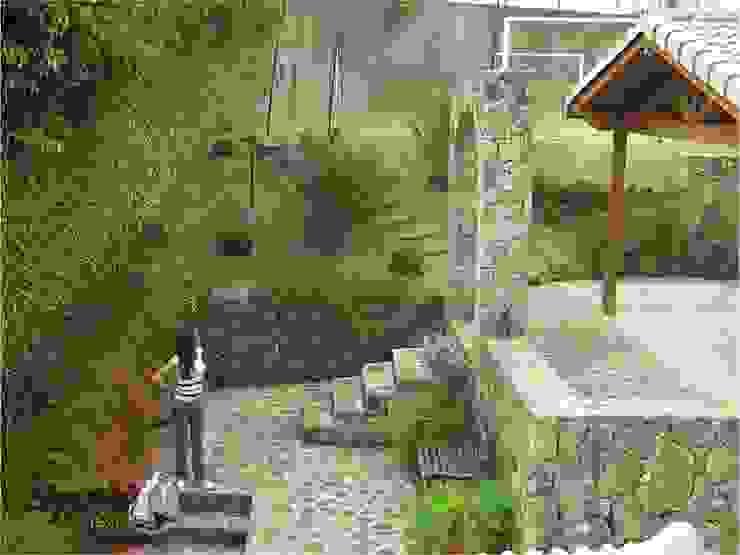 Muro de pedra Casas rústicas por Bizzarri Pedras Rústico