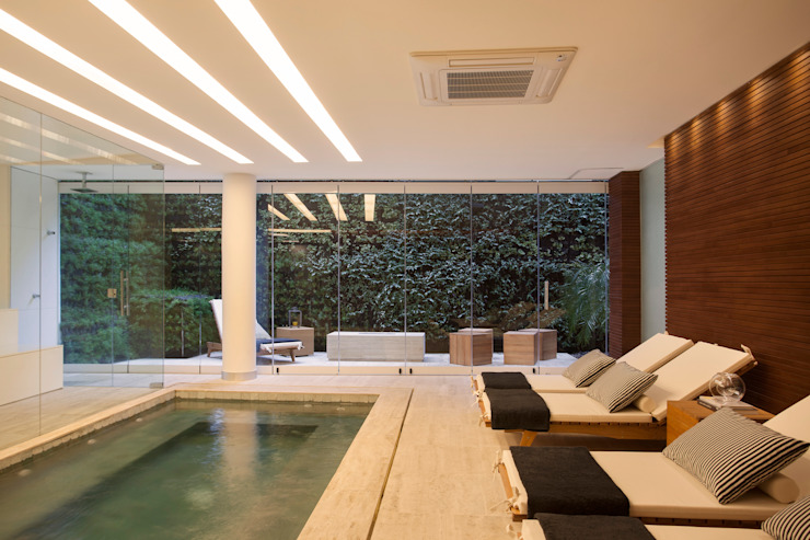 Edifício Rêve Leblon Spa moderno por Gisele Taranto Arquitetura Moderno