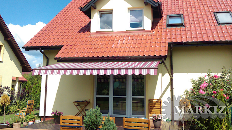 Markiz Serwis Classic style balcony, veranda & terrace