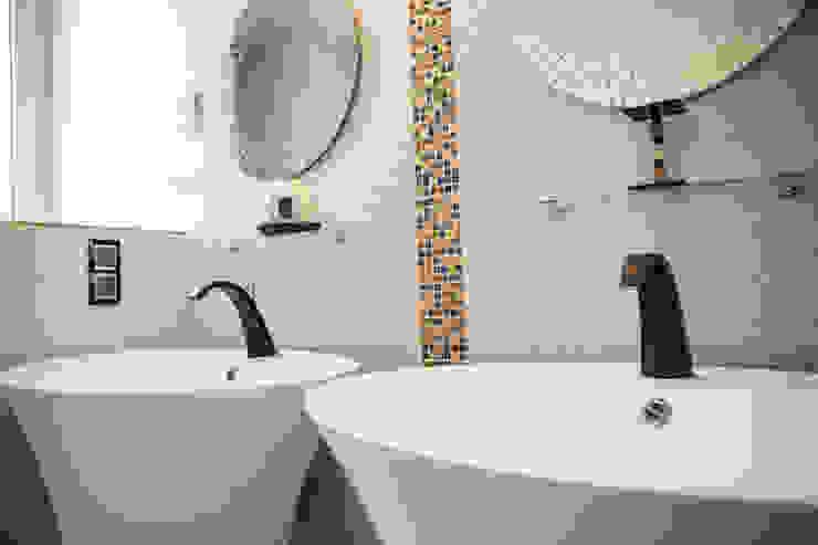 Salle de bain Maraval Salle de bain rustique par A3 Design Rustique