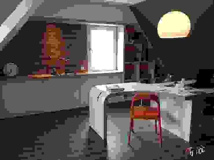 Architecture intérieur Brest - Rénovation d'un bureau Bureau classique par Ad Hoc Concept architecture Classique