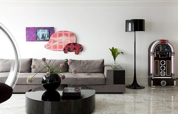 STUDIO CAMILA VALENTINI Modern living room
