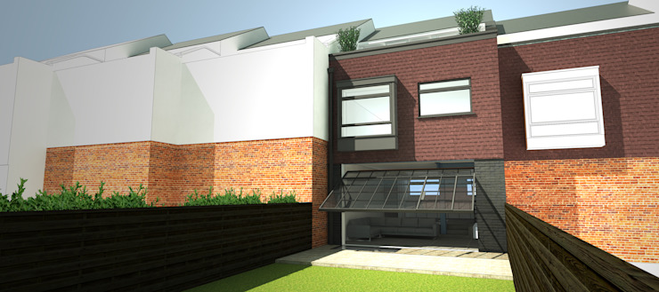 Chiswick Quay Modern houses by Coupdeville Modern