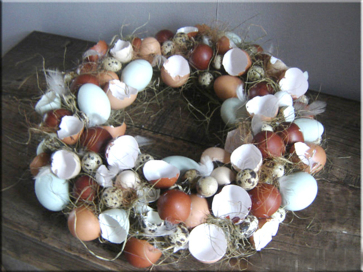 Paasdecoratie van Pasencreatief Landelijk