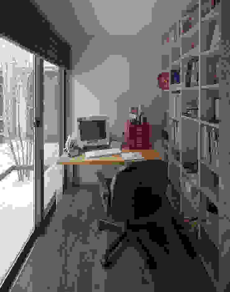 書斎 北欧デザインの 書斎 の 矩須雅建築研究所 北欧