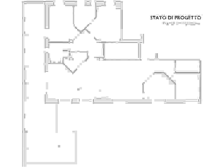 Pianta complessiva appartamento di Interni d' Architettura