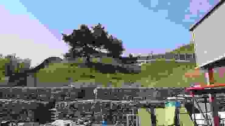 Gród na skarpie od archiDENA architektura krajobrazu