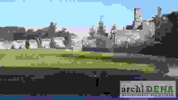 Ogród z widokiem na Narew od archiDENA architektura krajobrazu