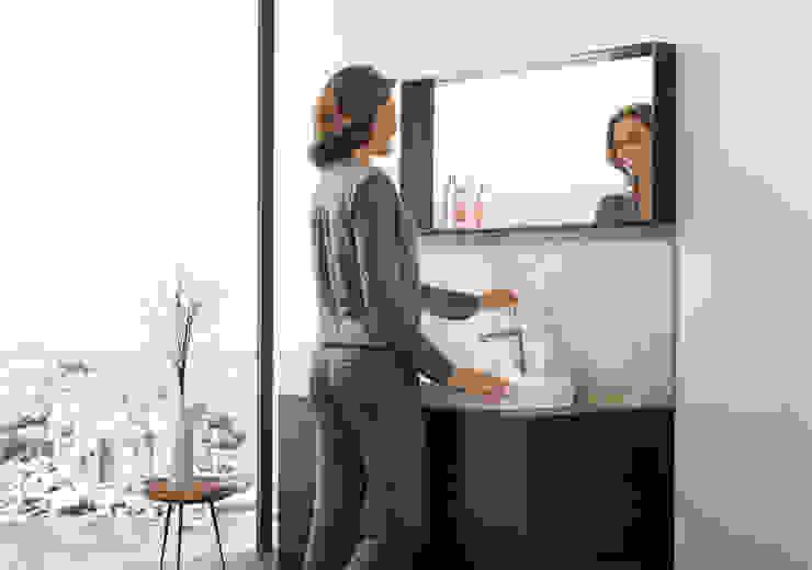 Eurocosmo badkamer voorzien van GROHE Eurodisc Joy serie Moderne badkamers van Grohe Nederland BV Modern