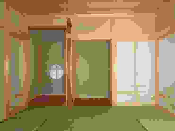 大屋根の家 和室造作 オリジナルな 窓&ドア の 江建築設計事務所 オリジナル