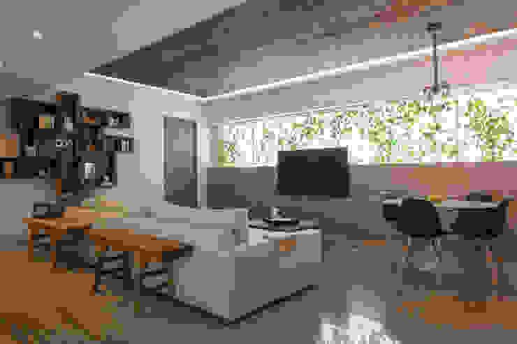 Salon moderne par kababie arquitectos Moderne