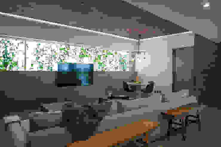Departamento Club de Golf kababie arquitectos Salones modernos