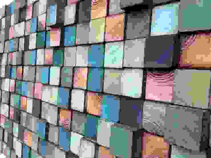 Ozdoby ścienne od DrewnianaŚciana Industrialny