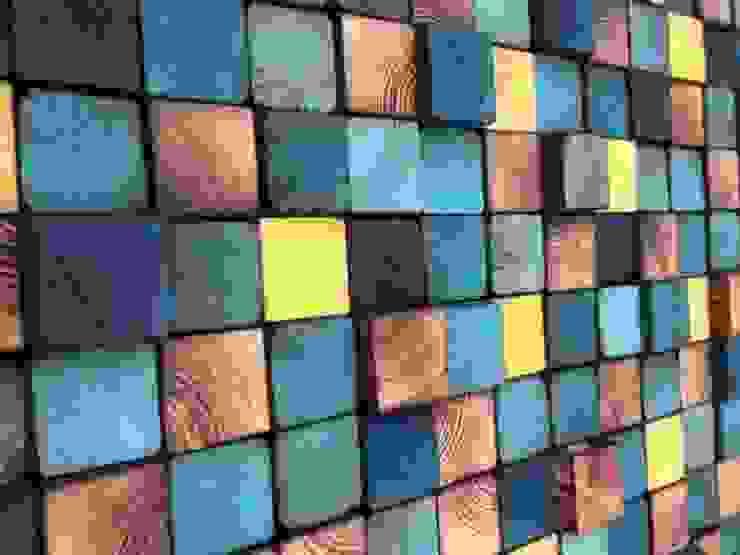 Ozdoby ścienne od DrewnianaŚciana Eklektyczny