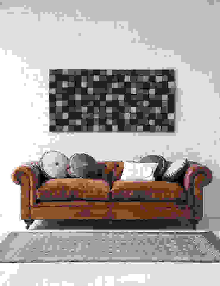 Mozaika drewniana od DrewnianaŚciana Skandynawski
