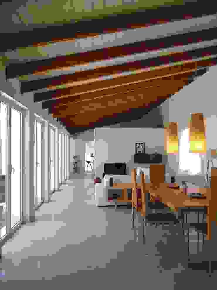Area Living Aroma Italiano Eco Design Sala da pranzo minimalista Legno Beige