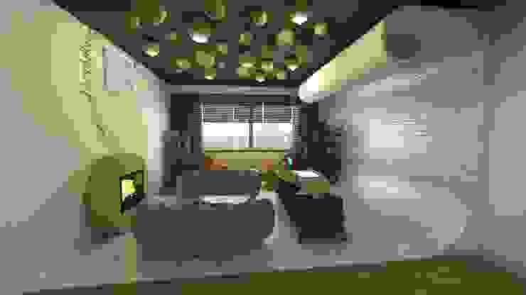 de estilo  por özlem tokerim iç mimarlık ve tasarım , Moderno